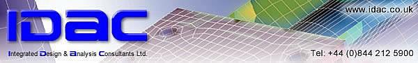 IDAC - Integrated Design & Analysis Consultants Ltd. - Tel: +44 (0)844 212 5900